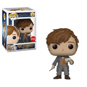 Funko Pop!  Fantastic Beasts - Newt Scamander (Michaels)