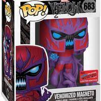 Funko Pop Marvel: Venom - Venomized Magneto (2020 New York Comic Con)