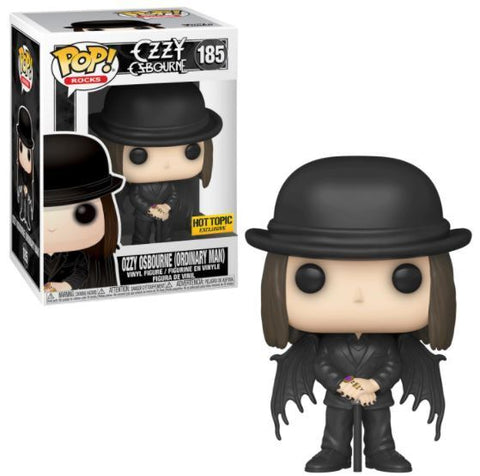 Funko Pop Rocks: Ozzy Osbourne (Ordinary Man) (Hot Topic)
