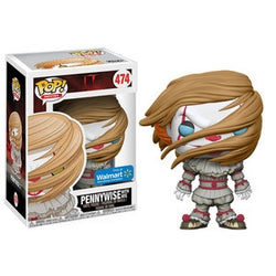 Funko Pop! Movies: It - Pennywise with Wig (Walmart)