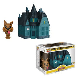 Funko Pop! Town: Scooby Doo & Haunted Mansion
