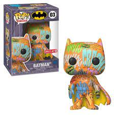 Funko Pop Art Series: Batman (Orange & Yellow) (Target)