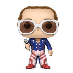 Funko Pop! Rocks - Elton John Red, White & Blue
