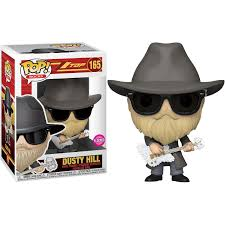 Funko Pop Rocks: ZZ Top - Dusty Hill (Flocked)