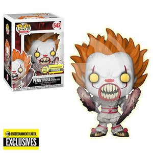 Pop! Movies: It S2 - Pennywise With Spider Legs (GITD) (EE)