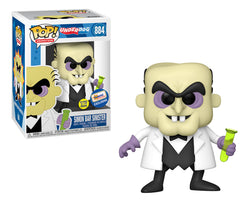 Funko Pop Animation: Underdog - Simon Bar Sinister (GITD) (Gemini)