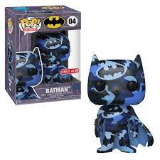 Funko Pop Art Series: Batman (Black & Navy) (Target)