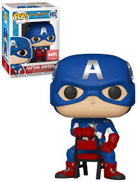 Funko Pop!  Spider-Man Homecoming - Captain America (Marvel Collectors)