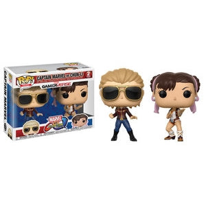 Funko Pop! Games: Gamerverse - Captain Marvel Vs Chun-Li