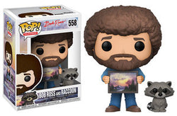 Funko Pop! Television - Bob Ross The Joy Of Painting - Bob Ross And Raccoon