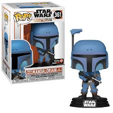 Funko Pop Star Wars: The Mandalorian - Death Watch Mandalorian (No Stripes)