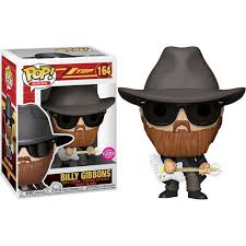 Funko Pop Rocks: ZZ Top - Billy Gibbons (Flocked)