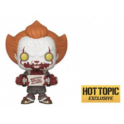 Funko Pop! Movies: It Chapter 2 - Pennywise with Skateboard (Hot Topic)