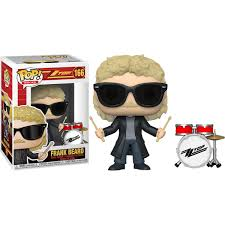Funko Pop Rocks: ZZ Top - Frank Beard