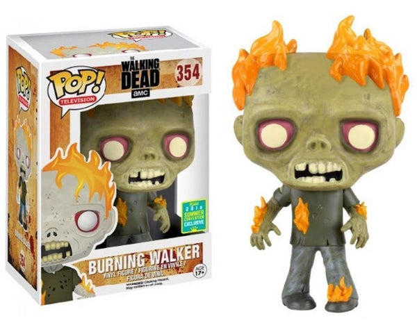 Funko Pop! Television: The Walking Dead - Burning Walker