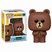 Funko Pop Animation: Line Friends - Brown