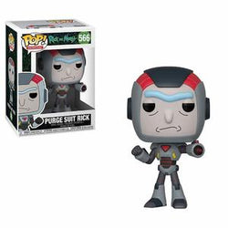 Funko Pop! Animation: Rick and Morty: Purge Suit Rick