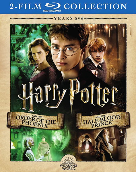 Harry Potter And The Order Of The Phoenix / Harry Potter And The Half-Blood Prince