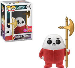 Funko Pop Comics: Saga - Ghus In Pajamas (Flocked) (Summer Convention)