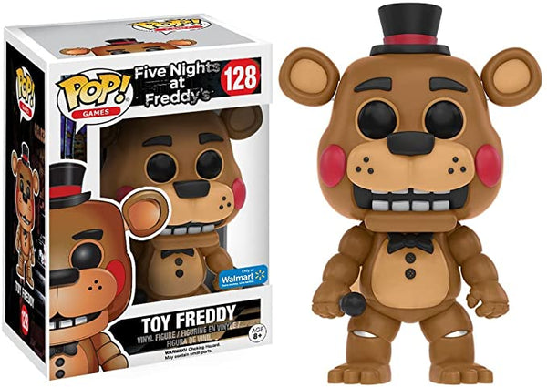 Funko Pop Games: Five Night At Freddy's - Toy Freddy (Walmart)