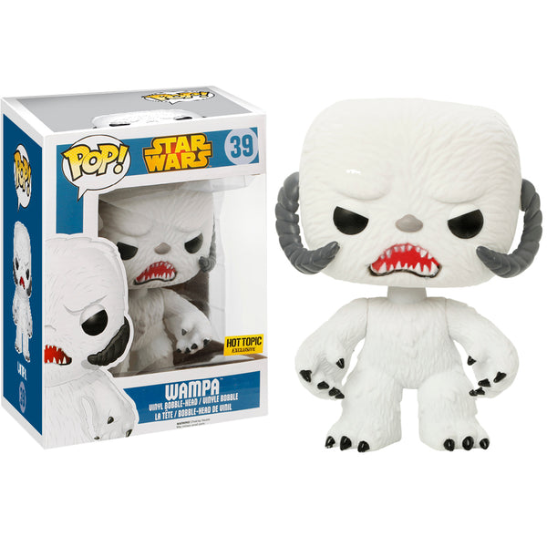 Funko Pop Star Wars - Wampa (Flocked) (Hot Topic) (6-Inch)