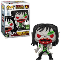 Funko Pop Marvel: Marvel Zombies - Zomibe Morbius (ECCC 2021 Spring Convention Shared)