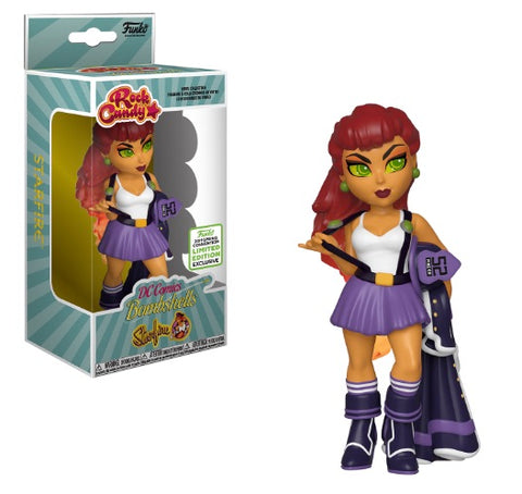 Rock Candy: DC Comics Bombshells - Starfire (2019 Spring Convention Shared Sticker)