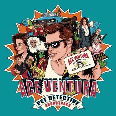 Ace Ventura: Pet Detective Original Soundtrack (Miami Tri-Color) : New Vinyl - Yellow Dog Discs