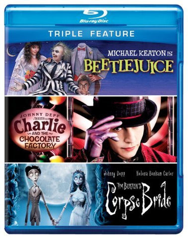 Beetlejuice / Charlie and the Chocolate Factory /Corpse Bride