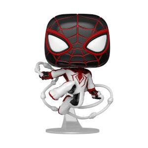 Funko Pop Games: Marvel's Spider-Man Miles Morales (Track Suit)