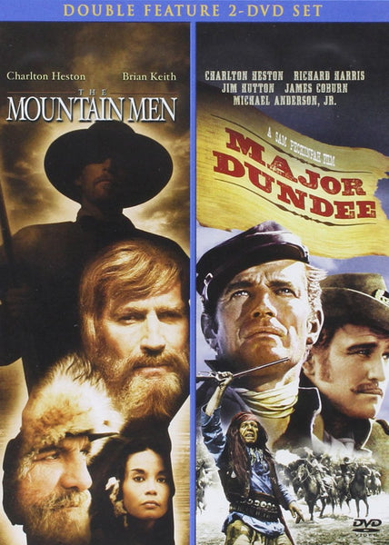 Major Dundee and Mountain Men Double Feature