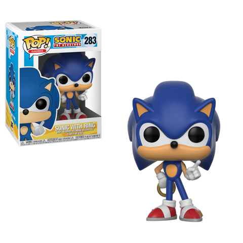 Funko Pop Games: Sonic The Hedgehog - Sonic With Ring