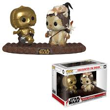 Funko Pop!  Star Wars: Movie Moment - C-3P0 on Throne