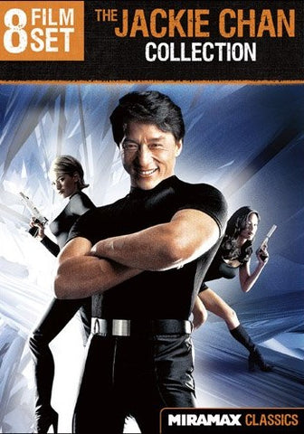 Jackie Chan (Operation Condor / Operation Condor 2: The Armour of the Gods / Dragon Lord / Twin Dragons / Project A / Project A2 / Supercop / The Accidental Spy) (Eight-Pack)