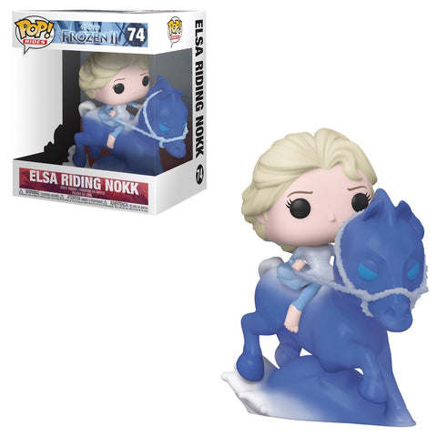 Funko Pop Disney: Rides: Frozen II - Elsa Riding Nokk