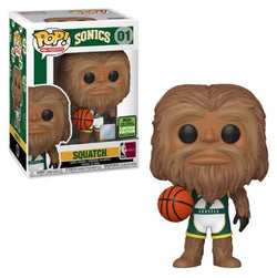 Funko Pop NBA Mascots: Sonics - Squatch (ECCC 2021 Spring Convention Shared)