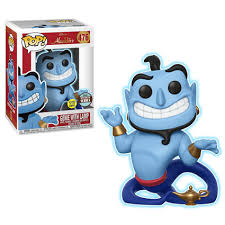 Funko Pop! Disney: Aladdin - Genie With Lamp (GITD) Specialty Series
