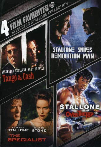 4 Film Favorites: Sylvester Stallone Collection: Tango and Cash/Demolition Man/The Specialist/Over The Top