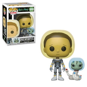 Funko Pop Animation: Rick And Morty - Space Suit Morty With Snake