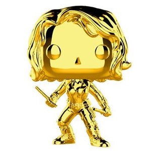 Pop! Marvel: MS 10 - Black Widow (Chrome)