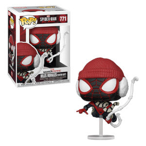 Funko Pop Games: Marvel's Spider-Man Miles Morales (Winter Suit)