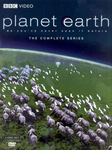Planet Earth: As You've Never Seen It Before The Complete Series BBC Video