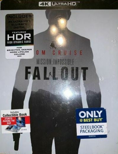 Mission Impossible: Fallout (Steelbook)