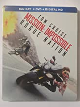 Tom Cruise: Mission Impossible Rogue Nation (Steelbook)
