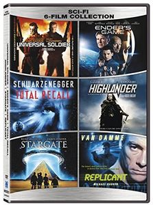 Universal Soldier / Ender's Game / Total Recall / Highlander / Stargate / Replicant