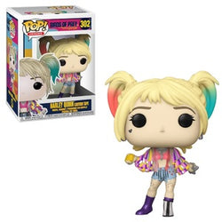Funko Pop Heroes: Birds Of Prey - Harley Quinn (Caution Tape)