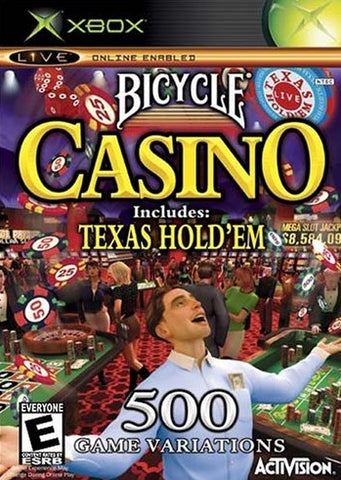 Bicycle Casino Includes Texas Hold'em