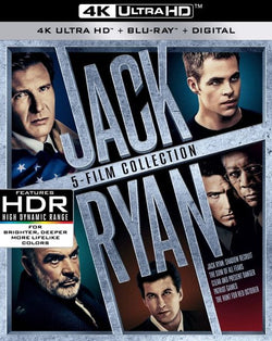 Jack Ryan: 5 Movie Collection (4K)