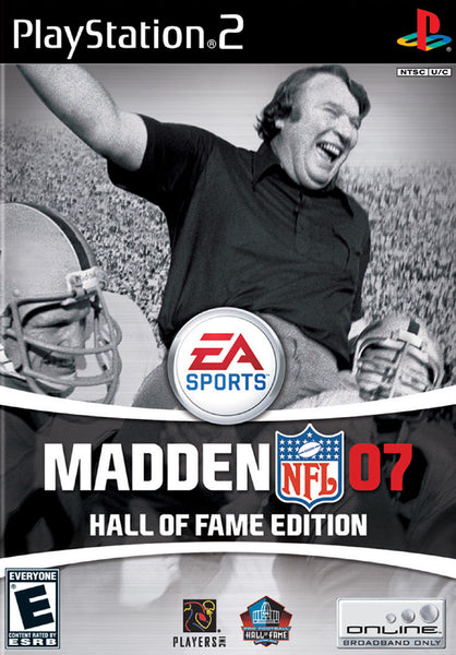 Madden 07: Hall Of Fame Edition