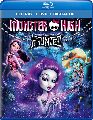 Monster High: Haunted [Blu-ray/DVD]